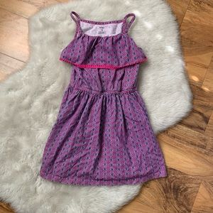 Carters girls pink tank dress size 6